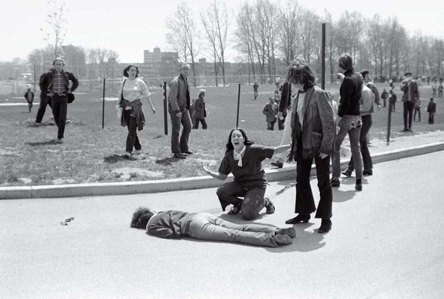 Kent State Shootings, John Paul Filo, 1970