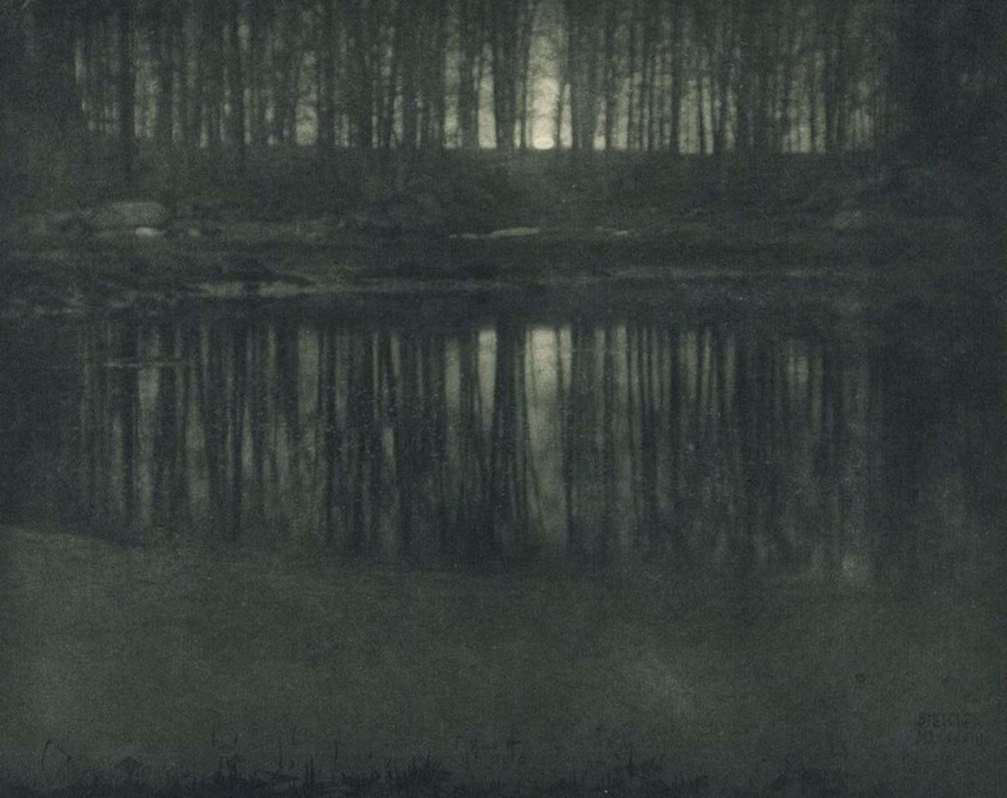 Moonlight- The Pond, Edward Steichen, 1904 most expensive photographs in history