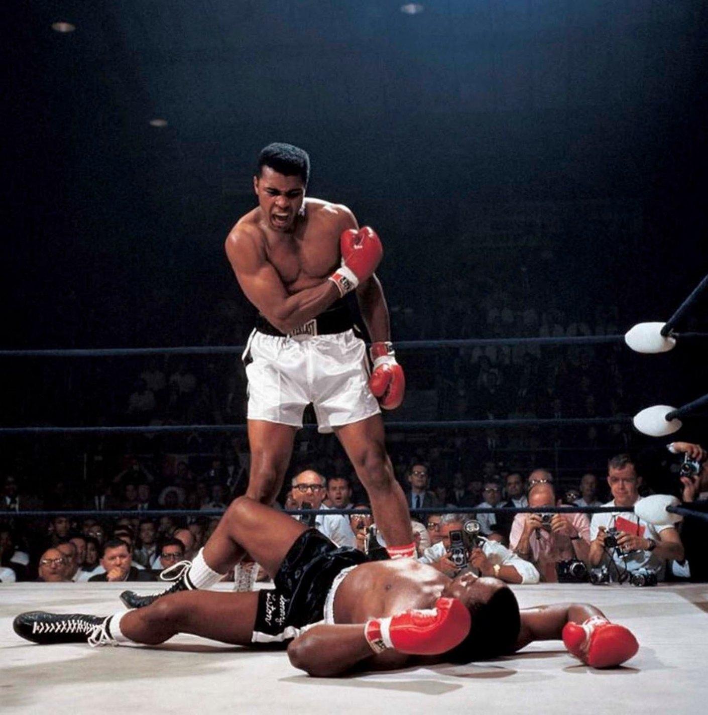 Muhammad Ali vs. Sonny Liston, Neil Leifer, 1965