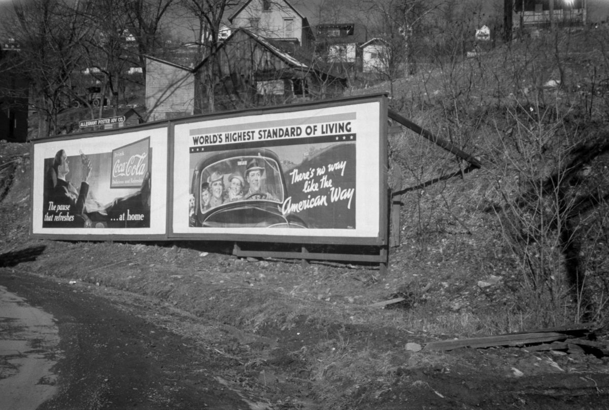 American way Near Kingwood, West Virginia