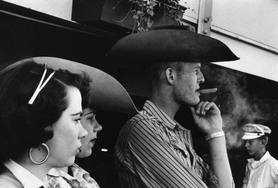 A cowboy in Miami, Robert Frank photos