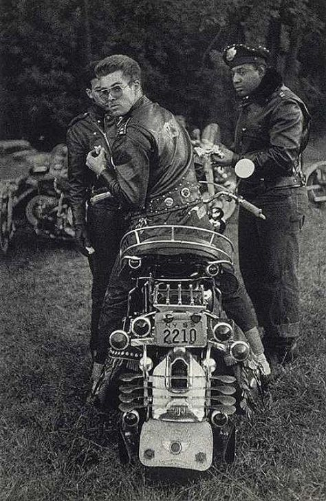 Bikers of the NYC, 1955