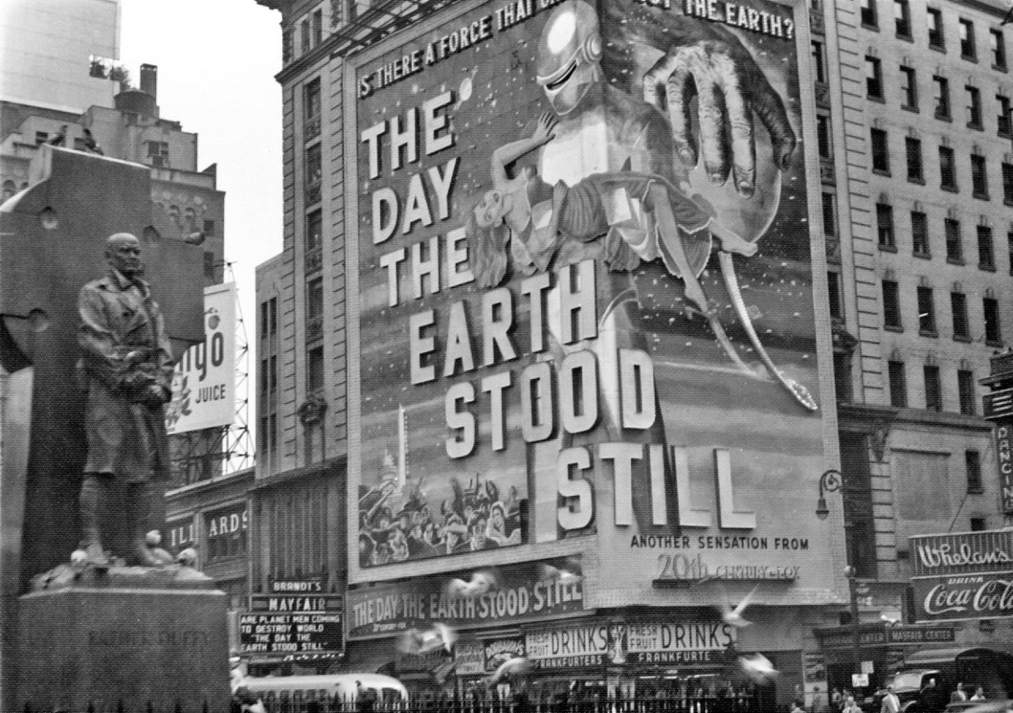 Peter Jingeleski, The day the Earth stood still