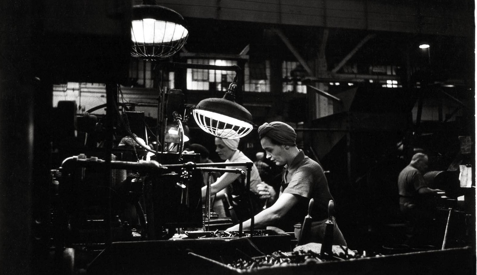 Pittsburgh Screw and Bolt–Woman Machine Operator