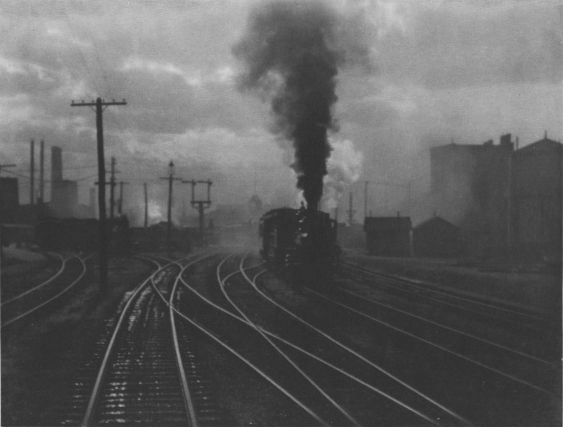 Railways in Berlin, Alfred Stieglitz photos