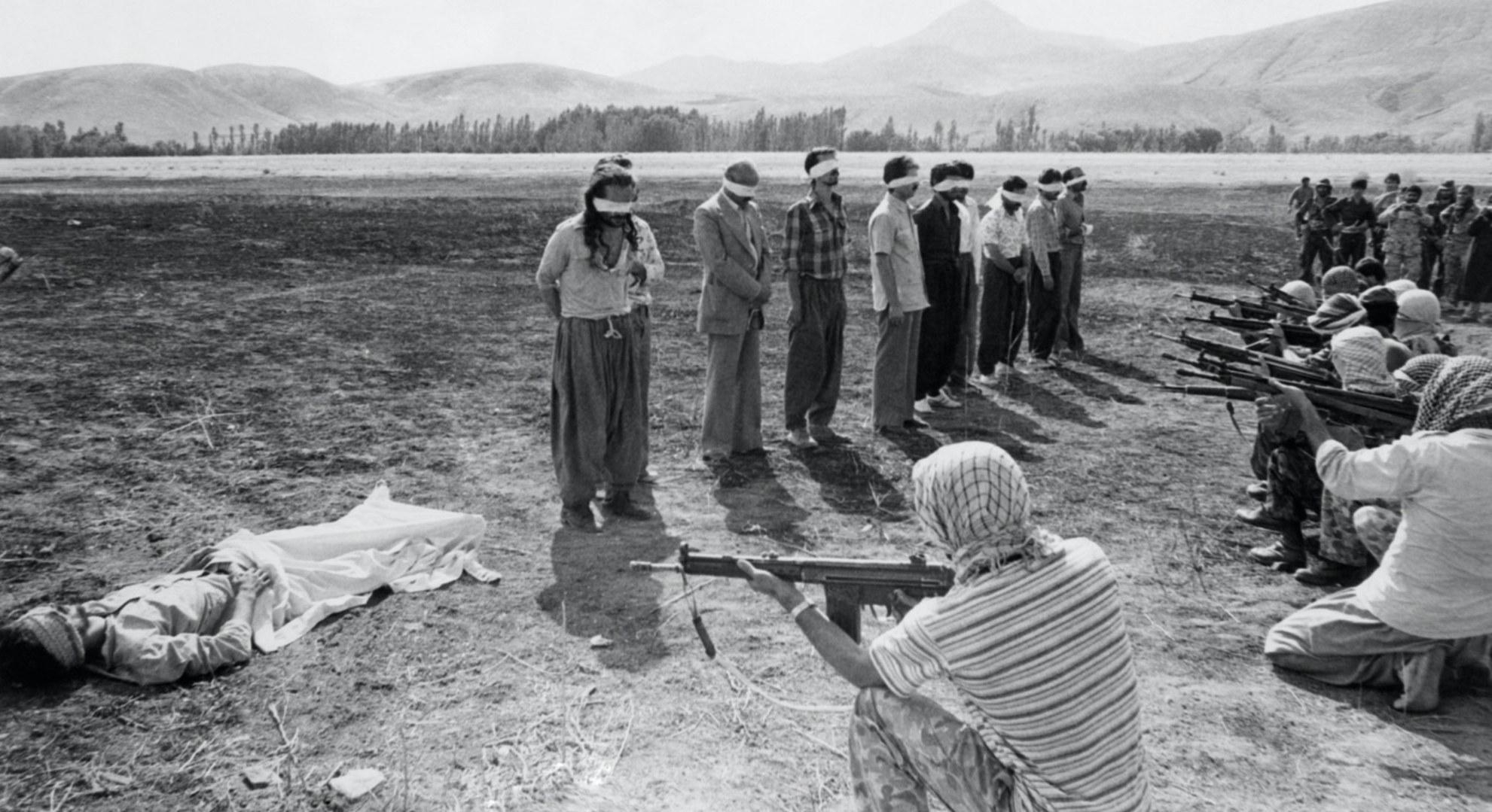 Razmi photo, before the execution
