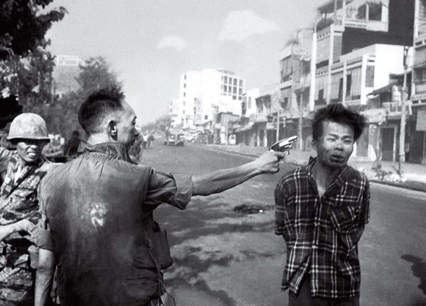 history photo Saigon Execution, Eddie Adams, 1968