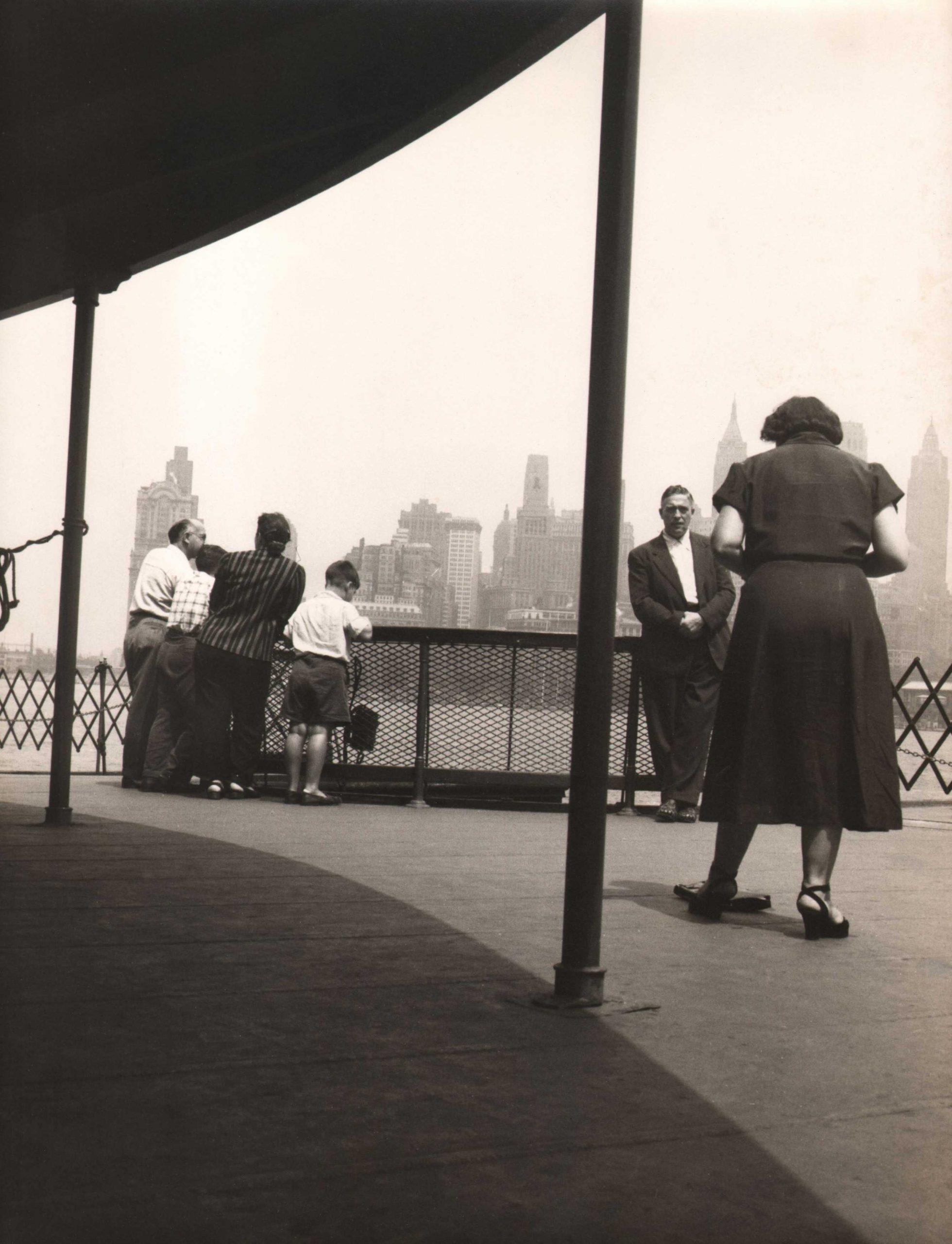 Simpson Kalisher, Untitled (Staten Island Ferry), c. 1949