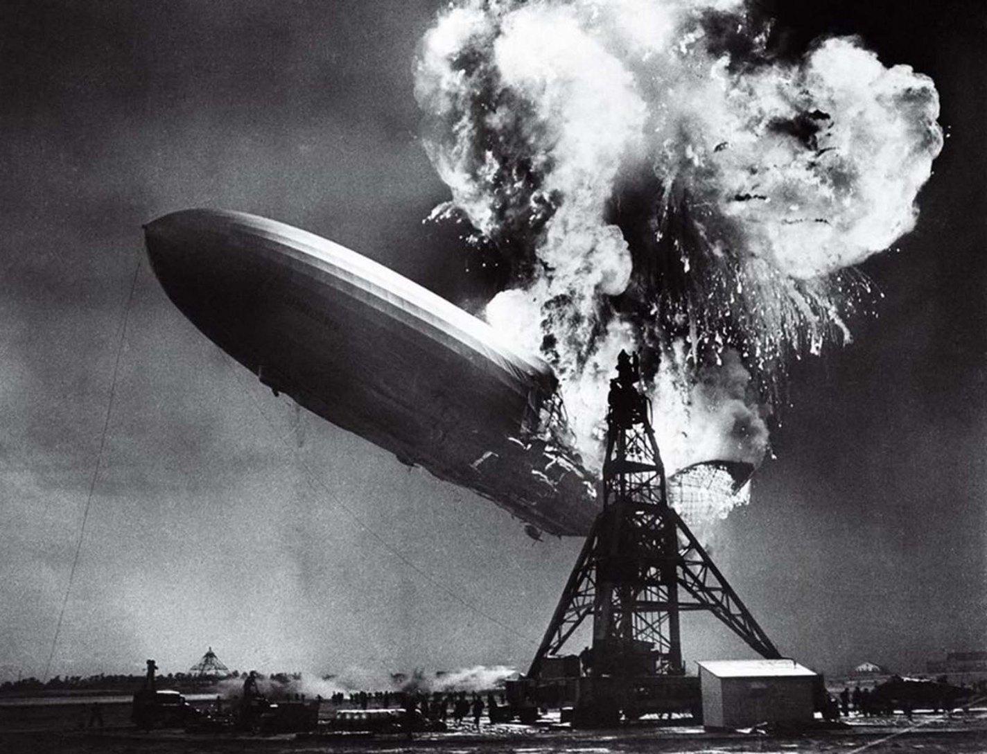 The Hindenburg Disaster, Sam Shere, 1937
