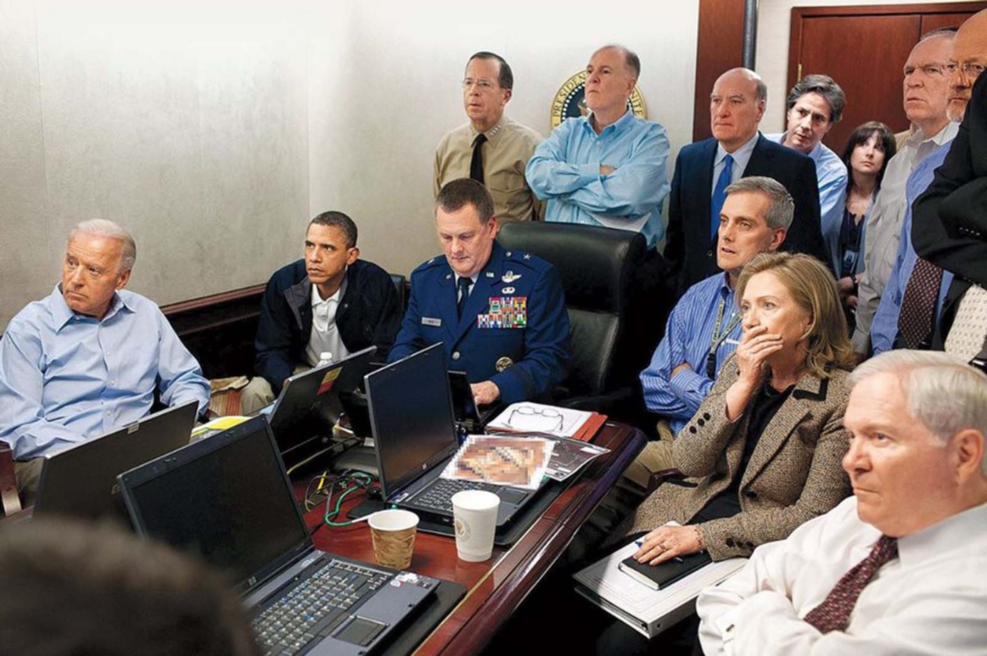 The Situation Room, Pete Souza, 2011