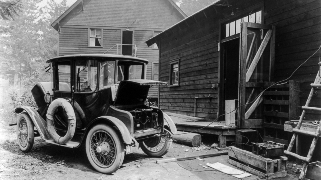 Home charging, Edison electric car
