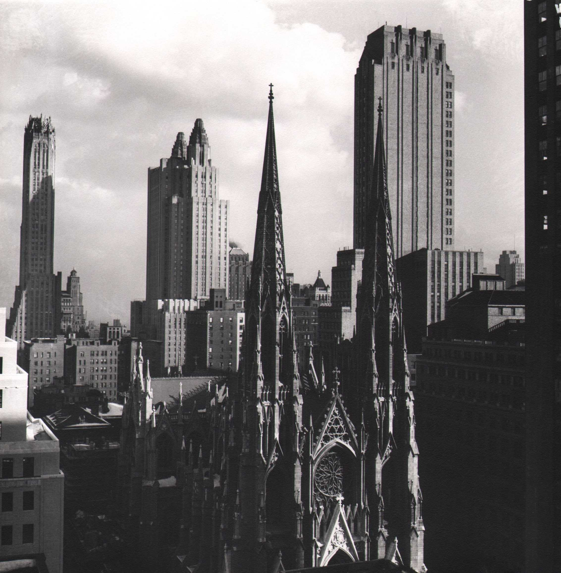 Todd Webb, View East from the 24th floor of the Esso Building, 1947