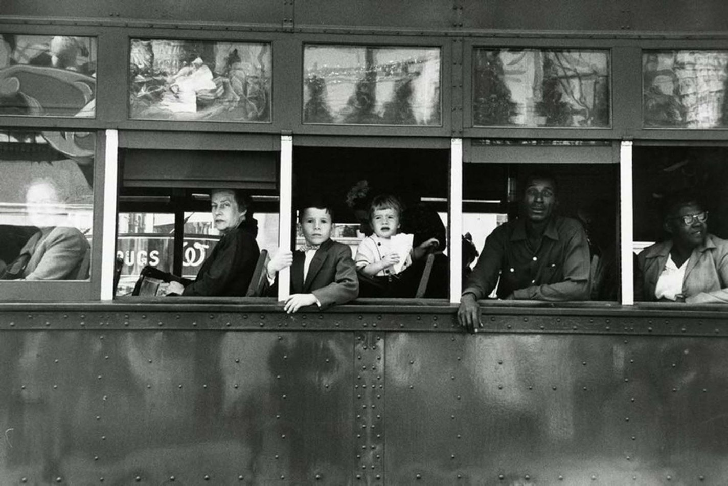 Trolley—New Orleans, Robert Frank