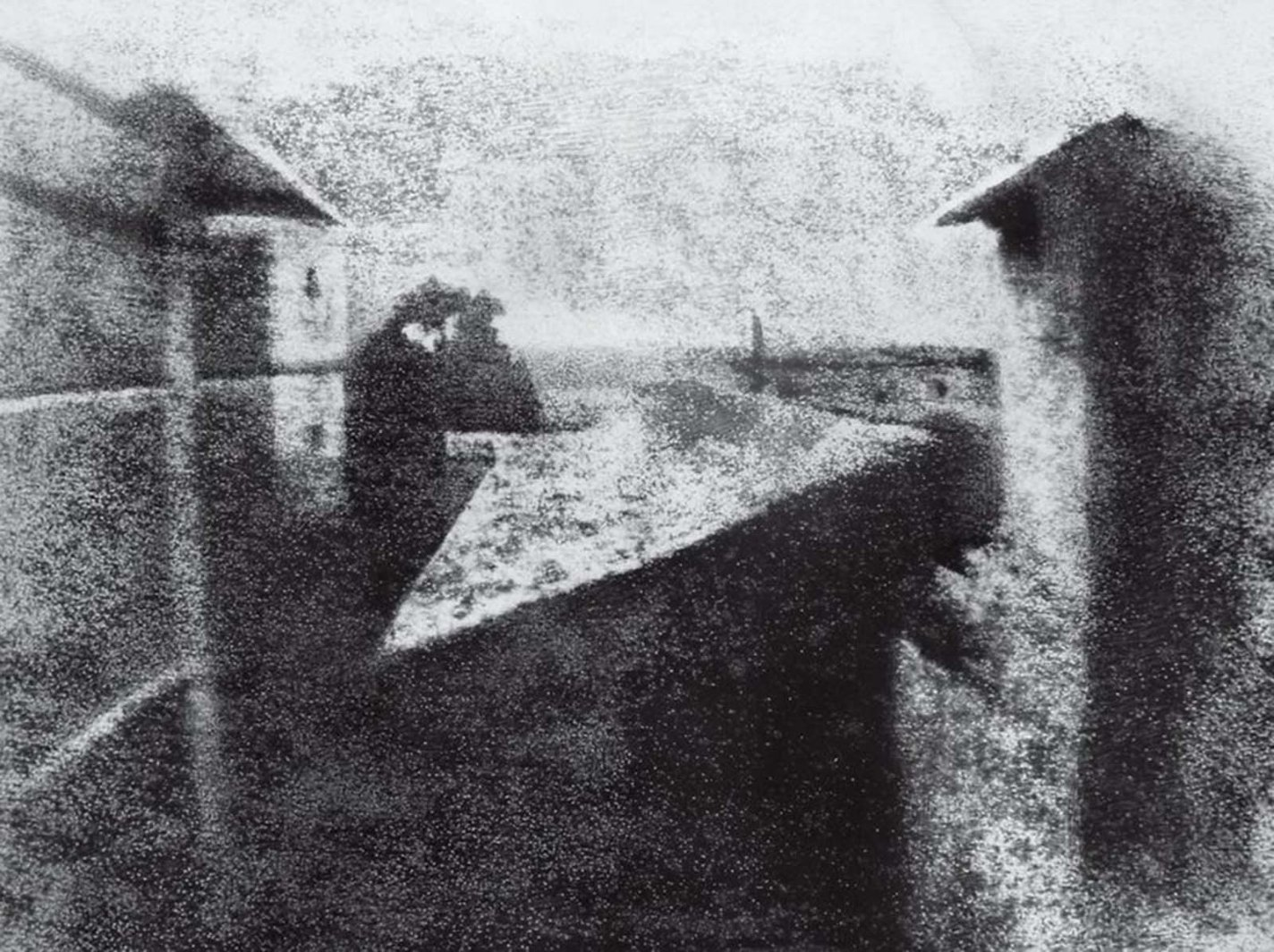 historical photos: Le Gras, Joseph Nicéphore Niépce, 1826.