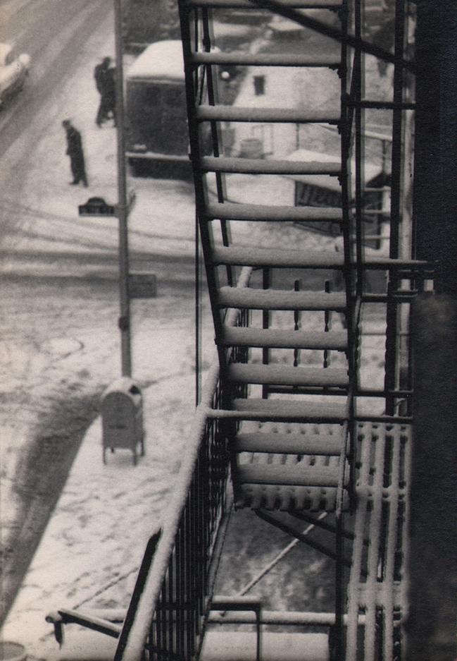 W. Eugene Smith, As From My Window I Sometimes Glance, 1957