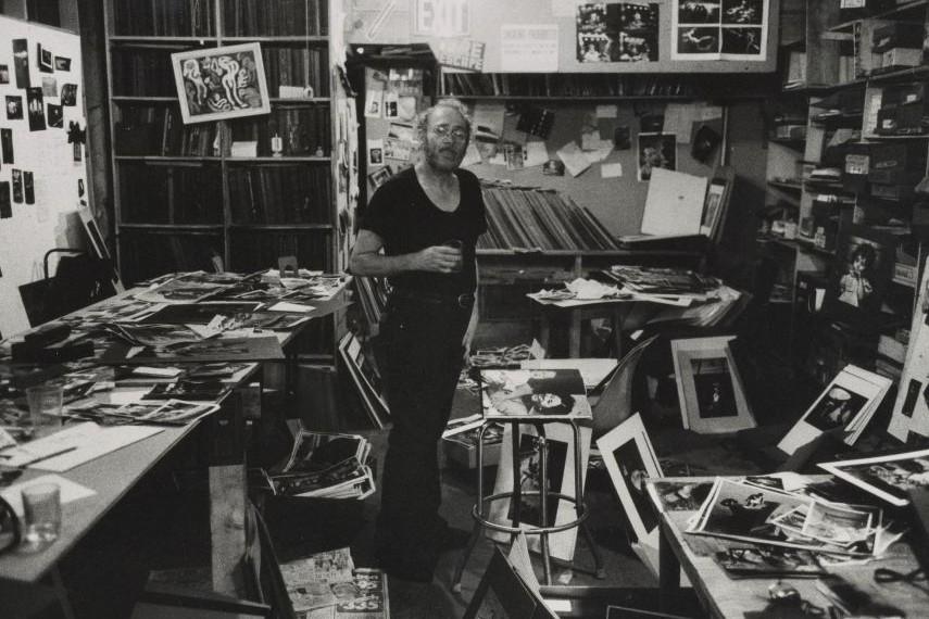 W. Eugene Smith, workroom