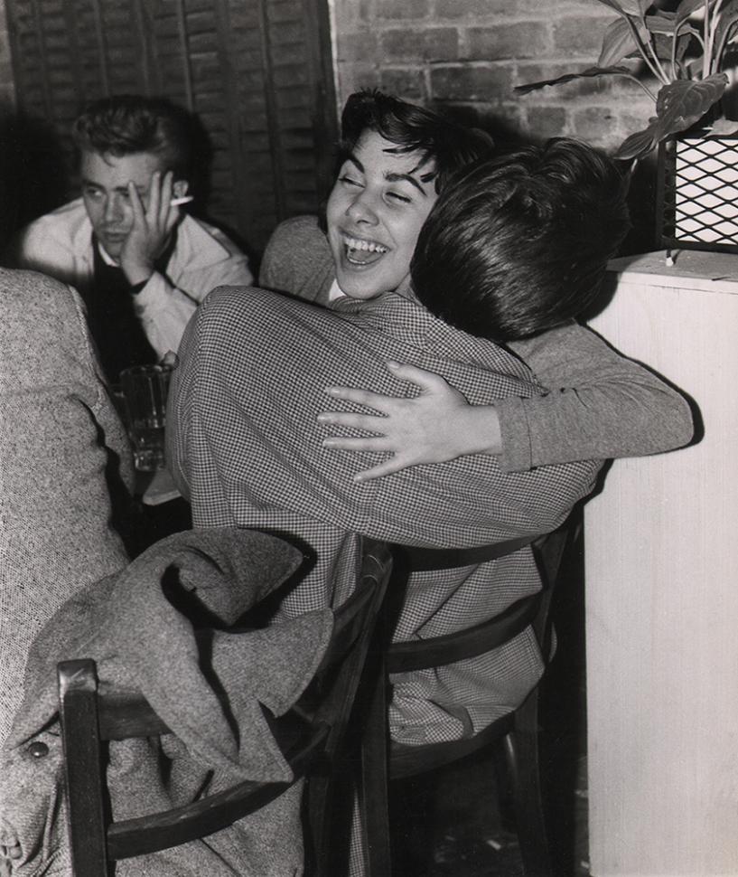 Weegee, James Dean in Greenwich Village, c. 1955