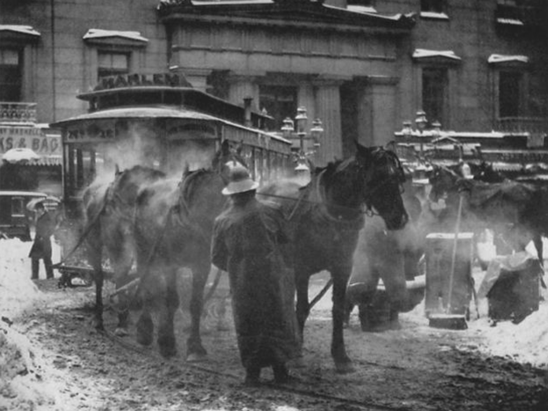 Snowy winter of 1905