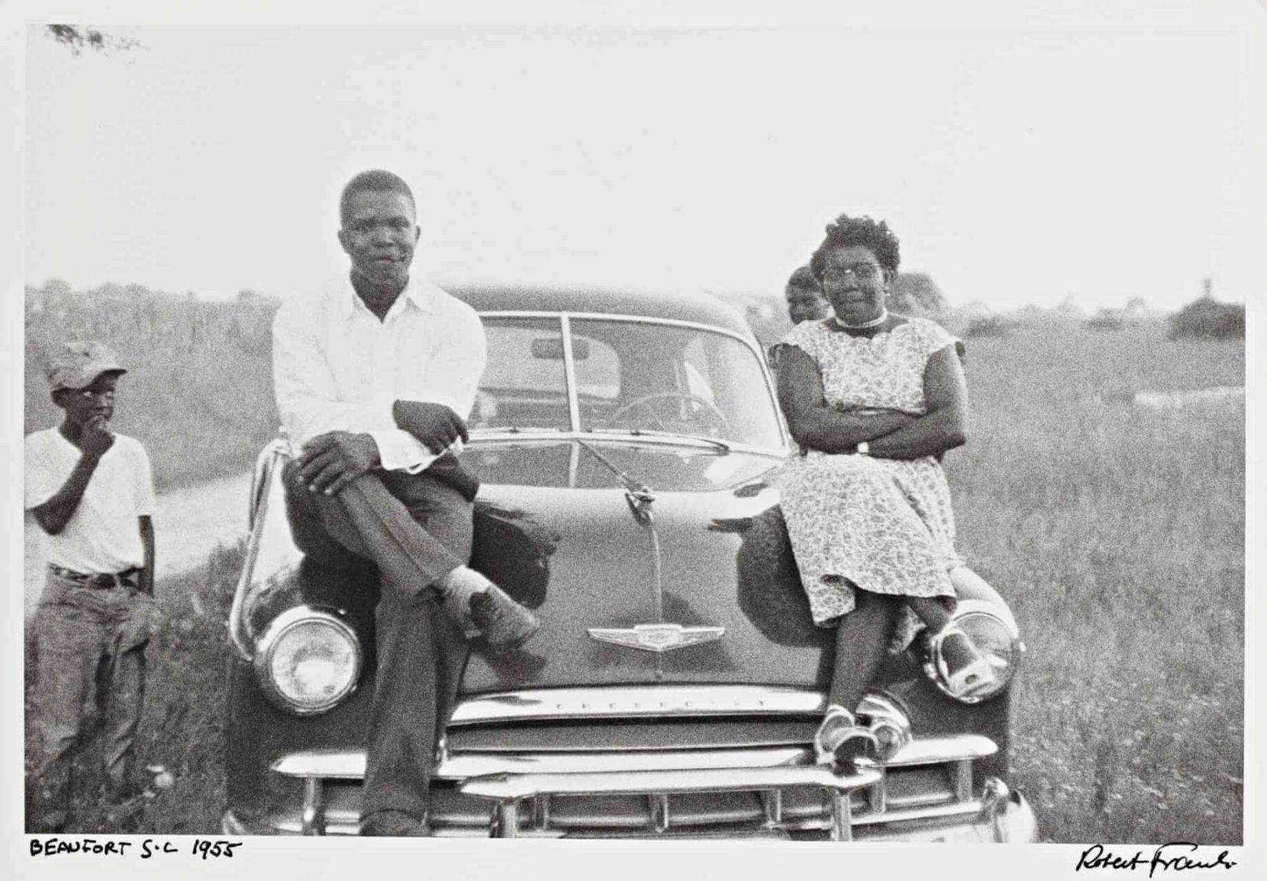 black couple, Robert Frank Americans
