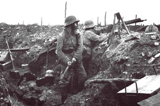 history photo of the Verdun battle