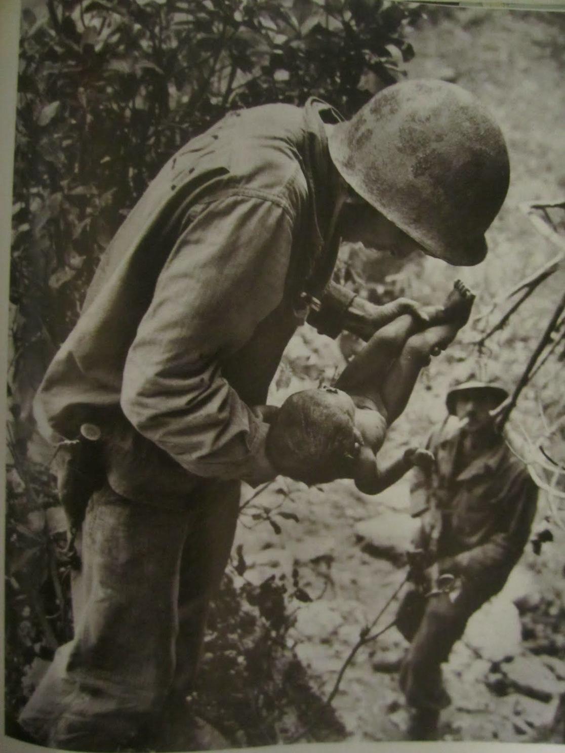 Okinawa shot, 1945