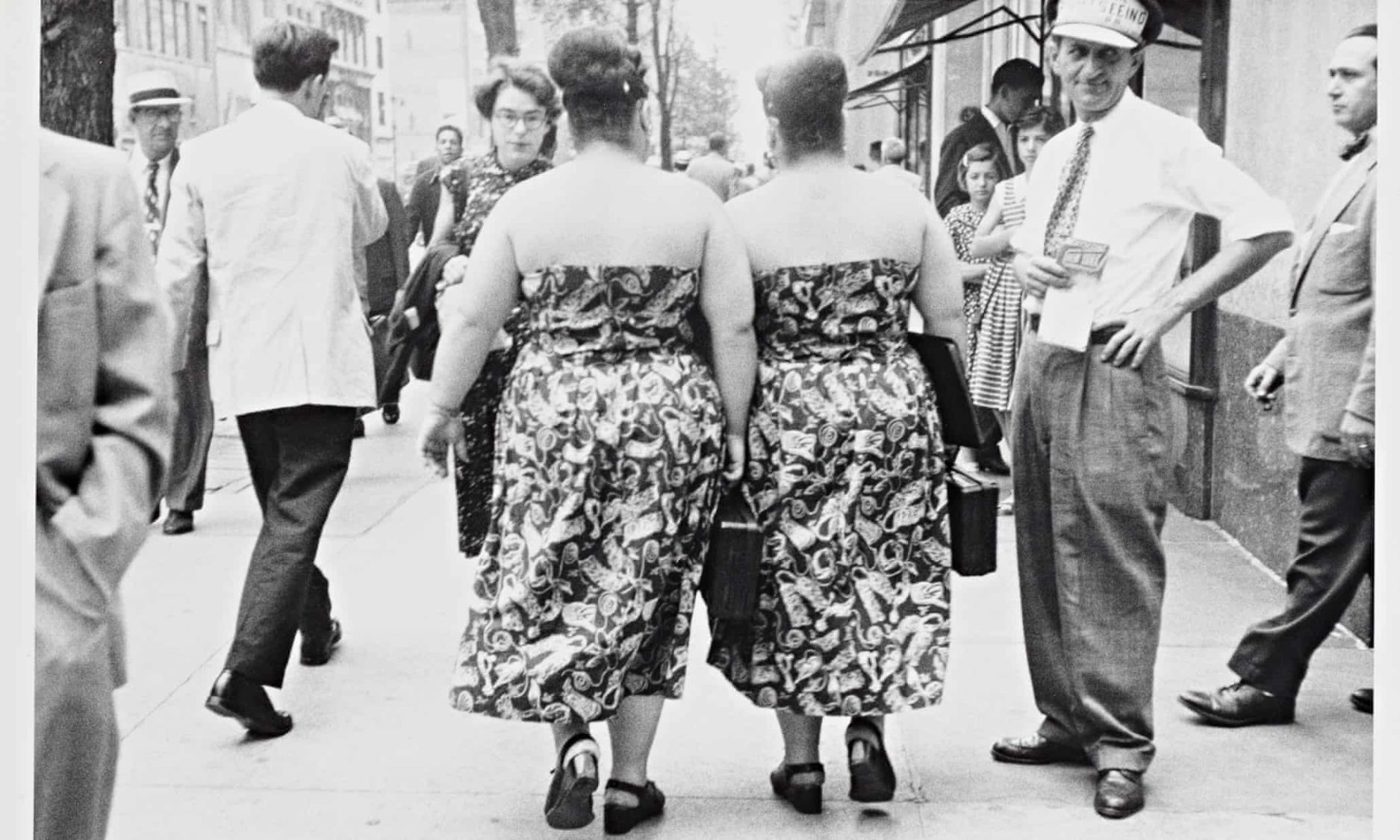 Twins in Cleveland, Robert Frank photos