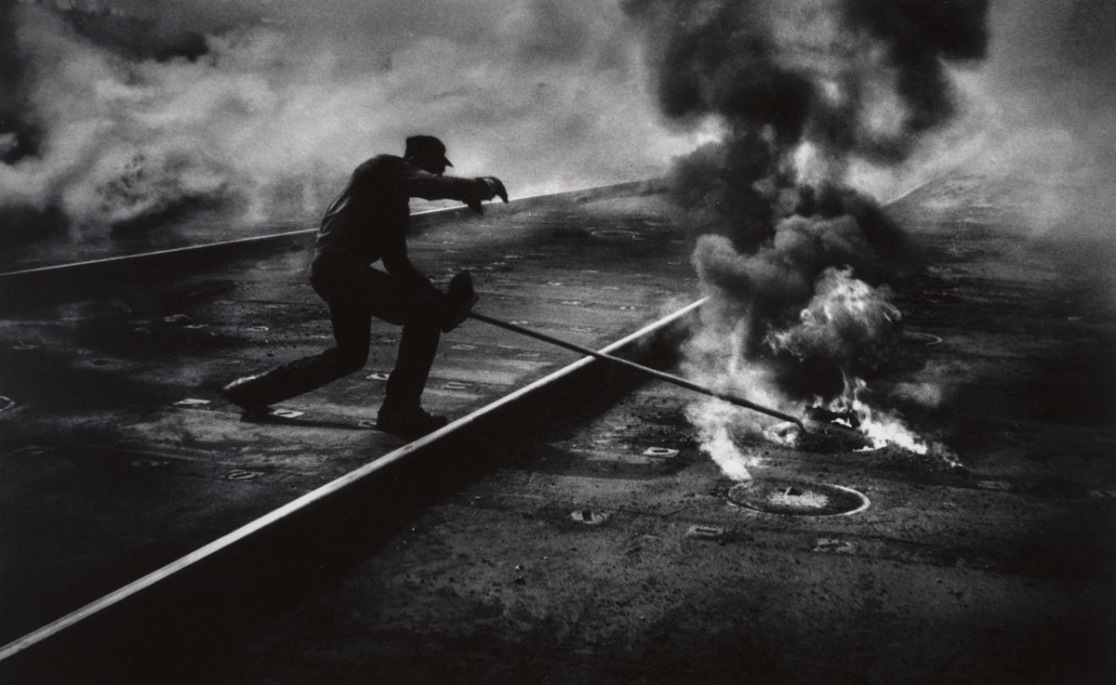 W. Eugene Smith photo Dance of the Flaming Coke
