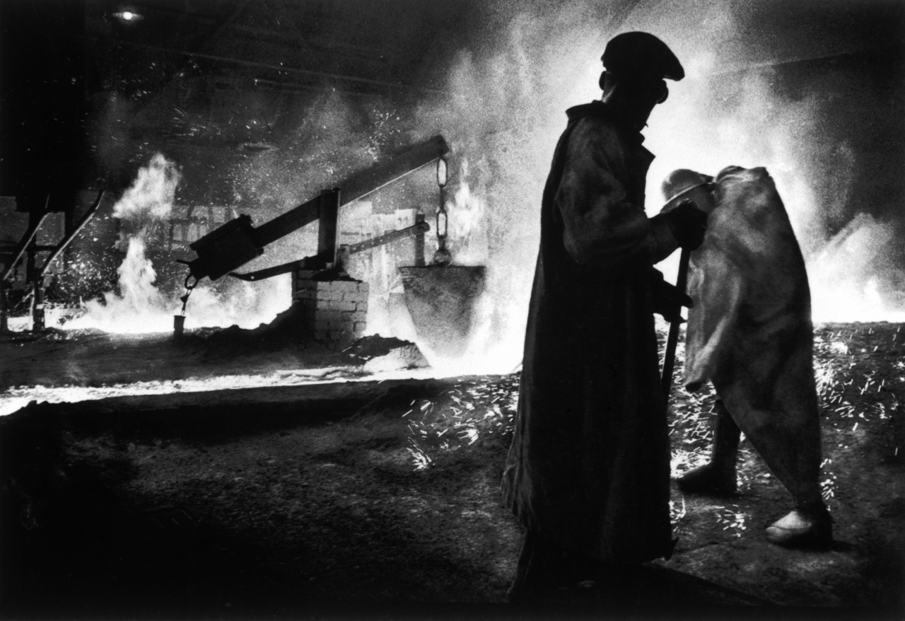 Pittsburgh still worker photo by W Eugene Smith