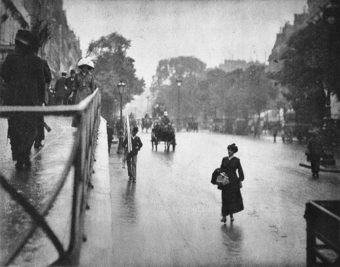 rainy day in NYC, 1901