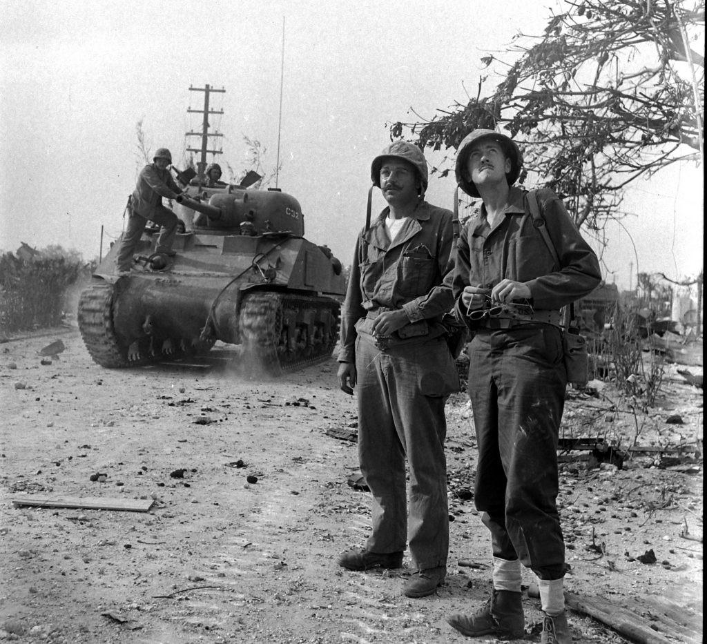 Battle of Saipan, 1944.