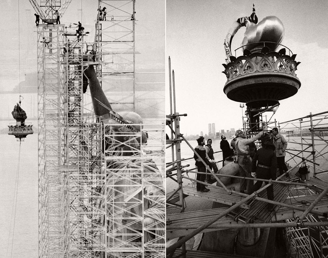 Construction and Reconstruction of Statue