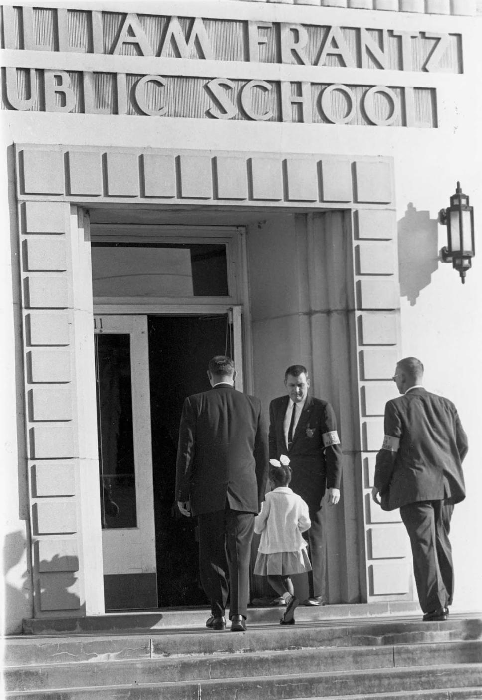 Entering the Frantz School