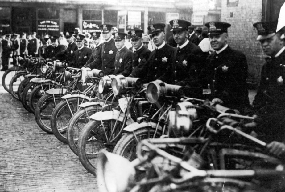 Chicago motorcycle police