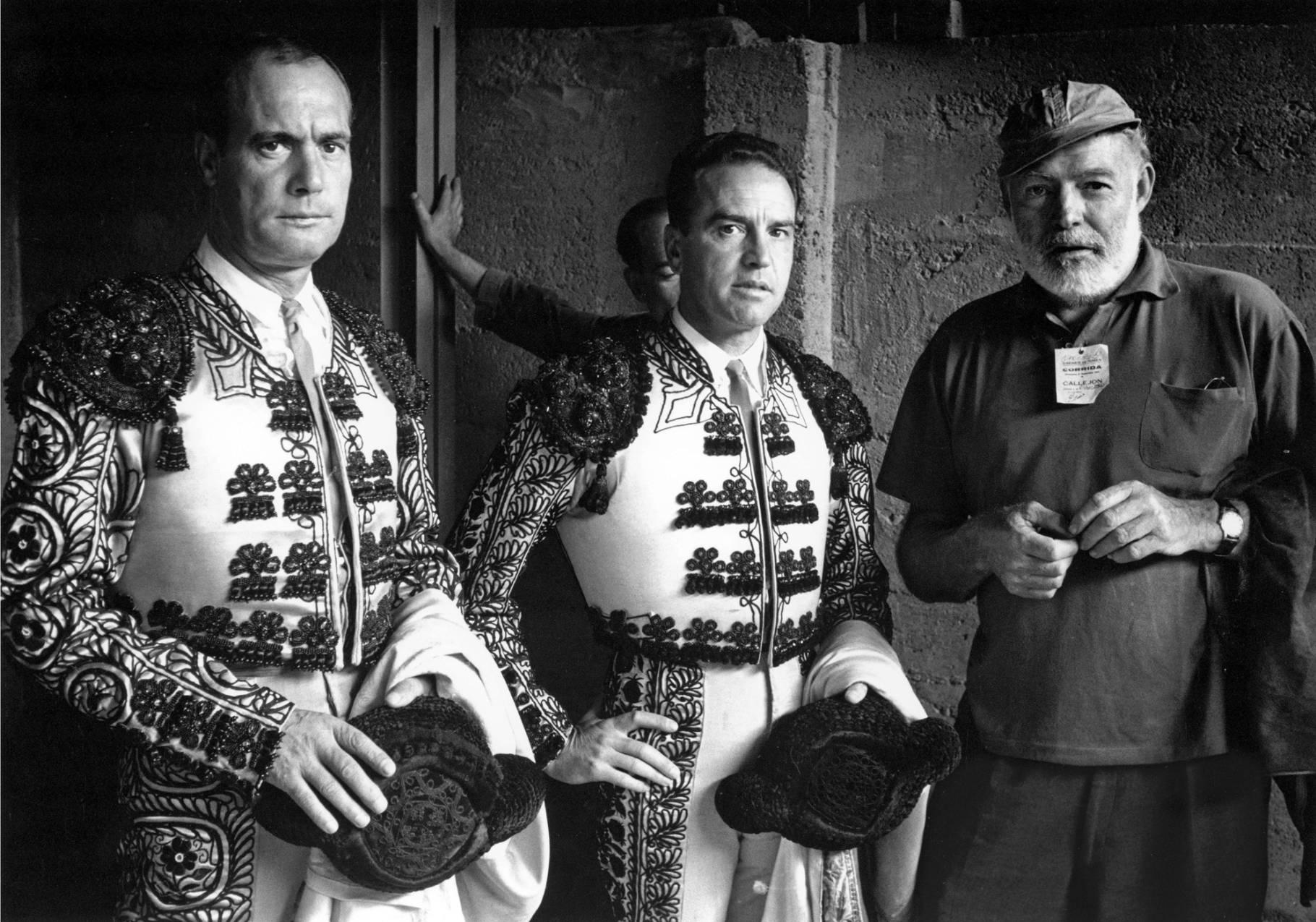 Pictures Hemingway Spain toreros