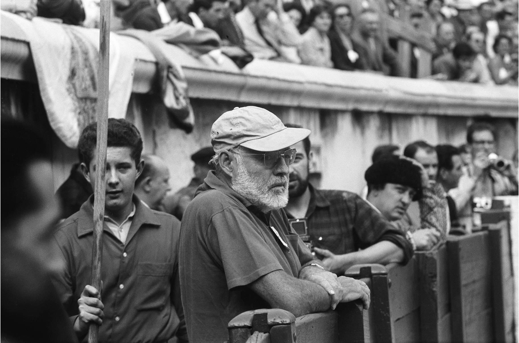 Pictures of Hemingway Spain  corrida