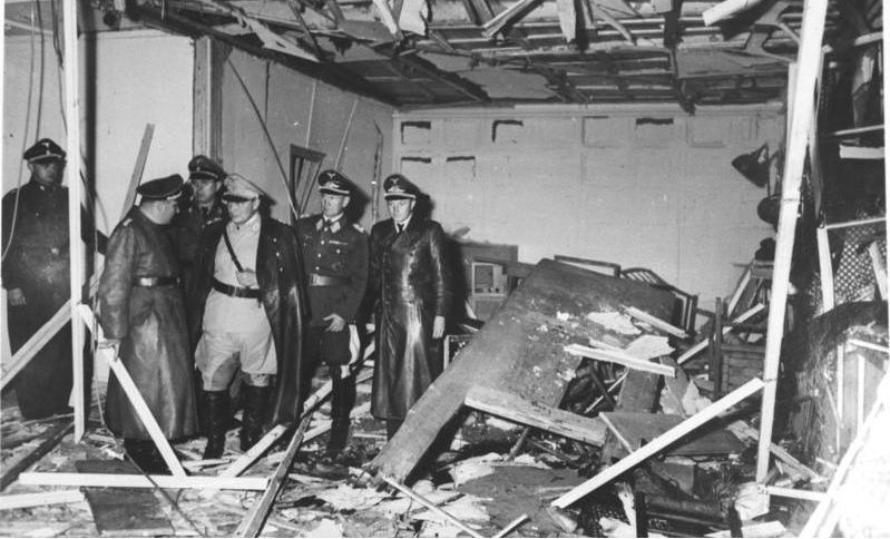 Hitler Wolf's Lair assassination attempts
