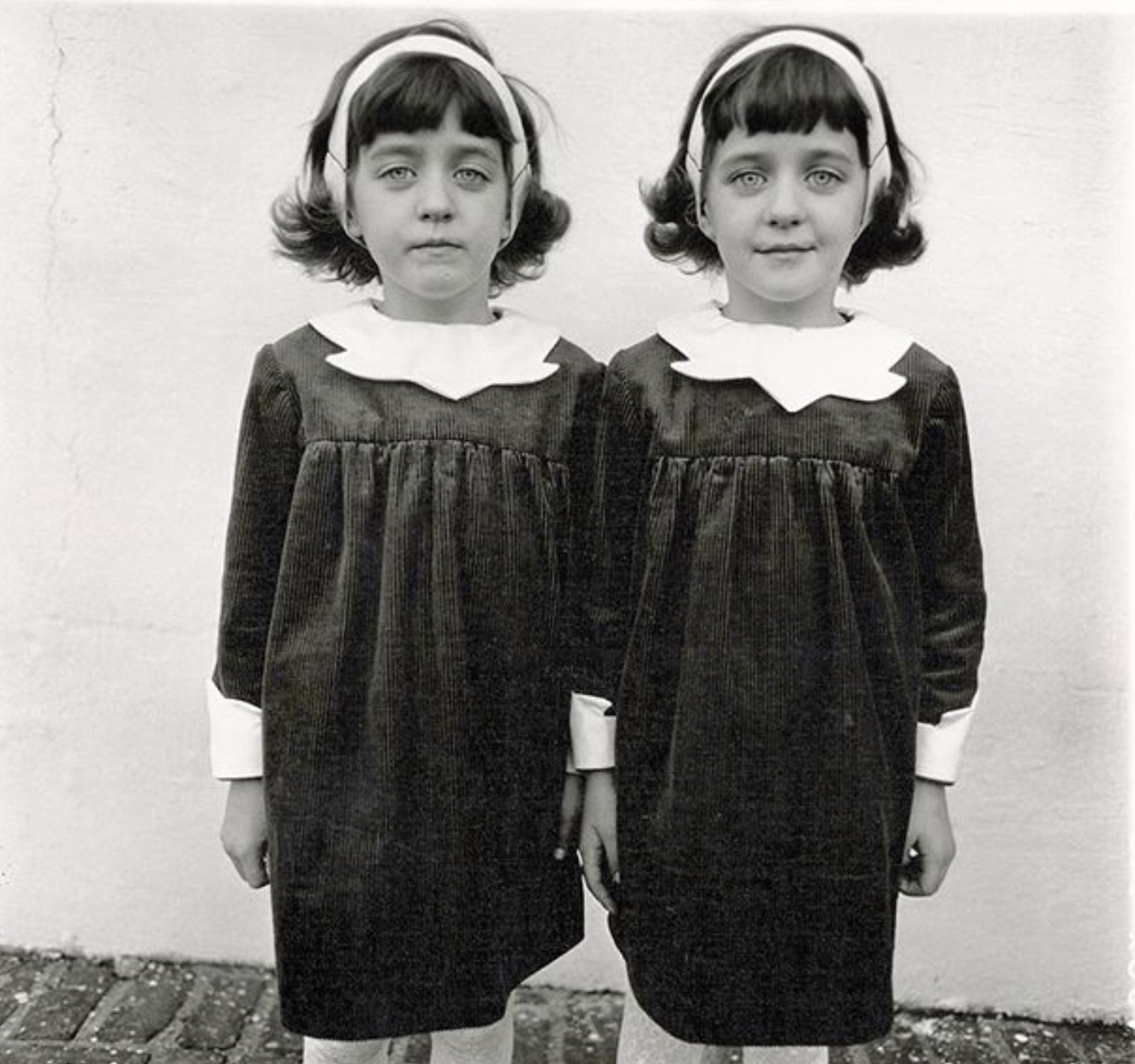 Iconic Identical Twins by Diane Arbus