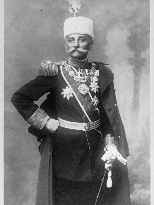 Peter, King of Serbia at the beginning of WW1, 1914