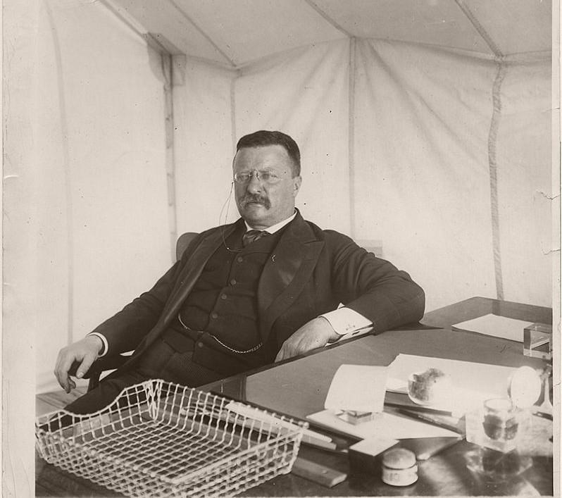 Theodore Roosevelt in San Antonio, Texas