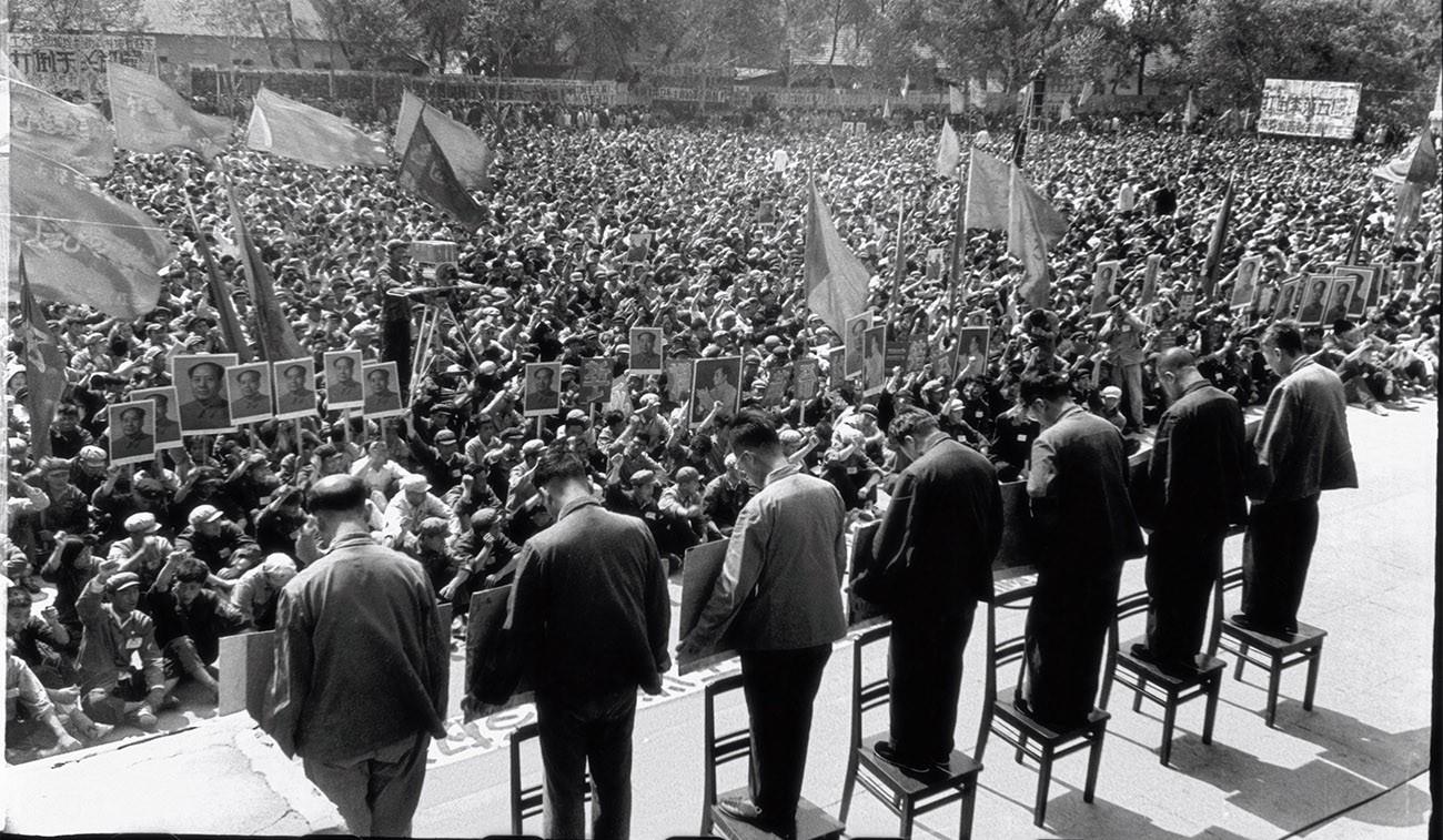 seven party secretaries declassed during the Cultural revolution