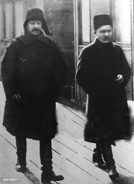 Stalin and Kalinin, 1919