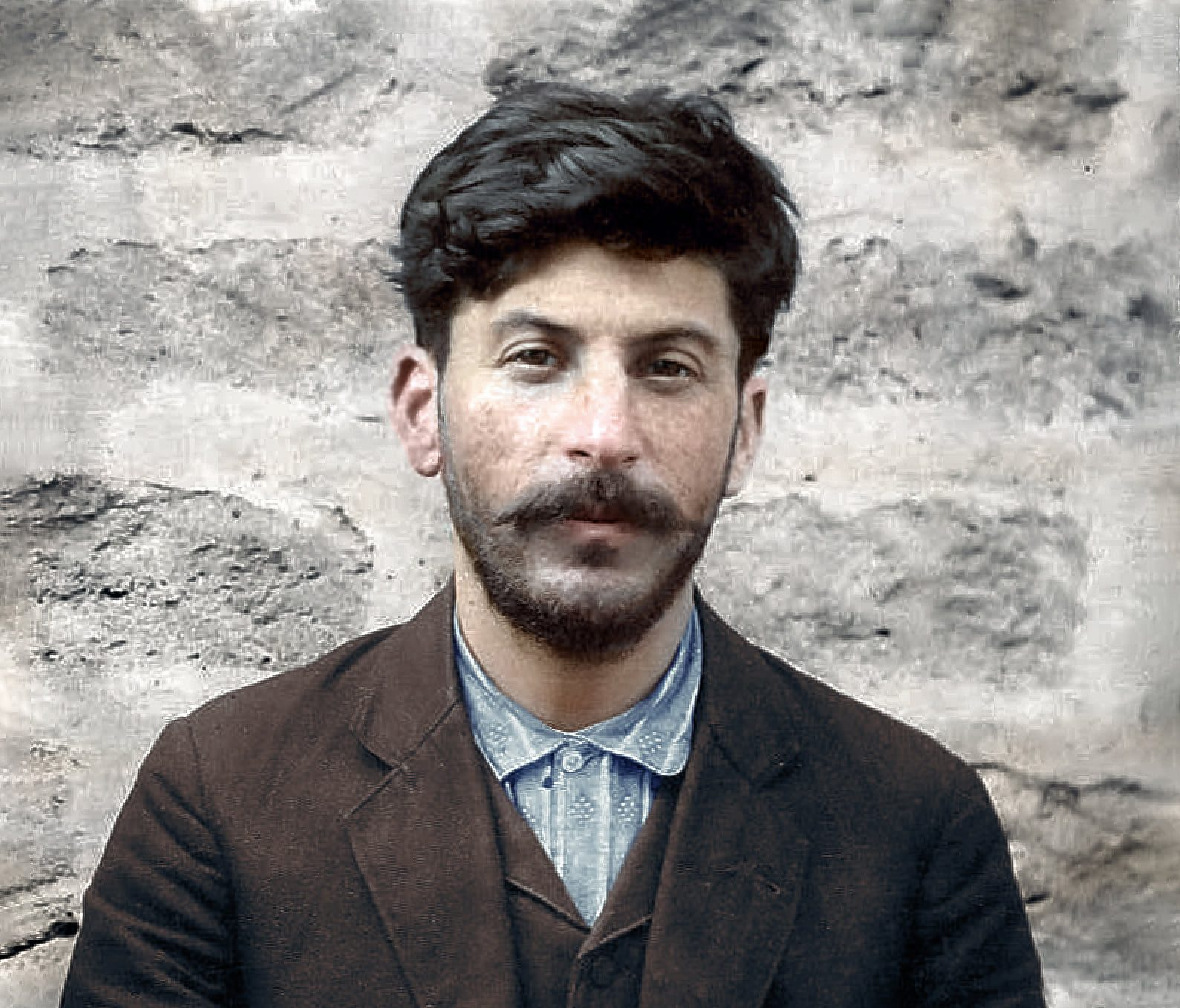 Young Stalin in Baku, 1910