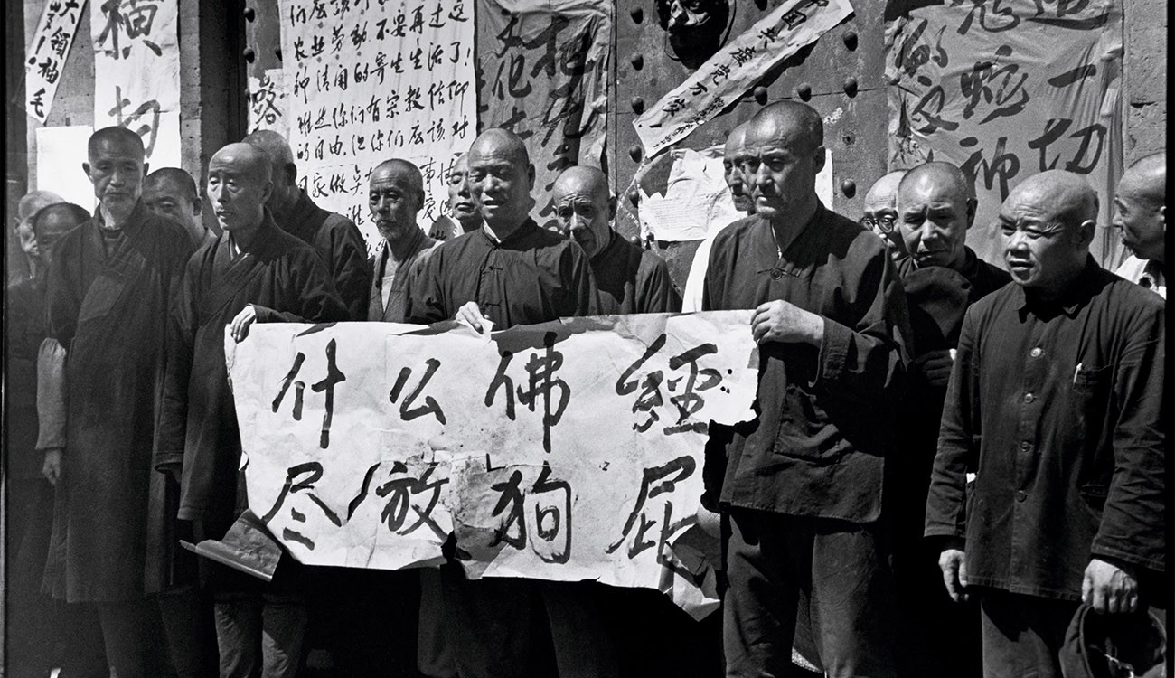 humiliation of Monks by Red Guards in China during the Cultural revolution