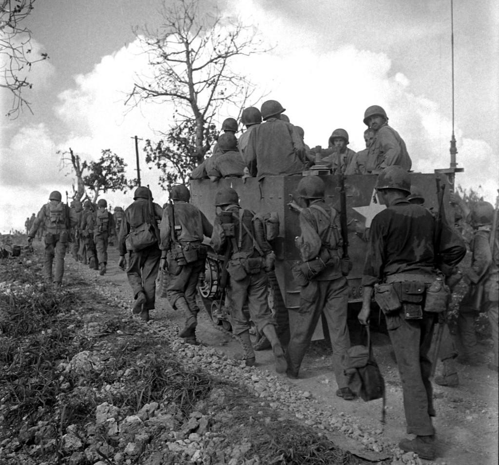 The Battle of Saipan, 1944.