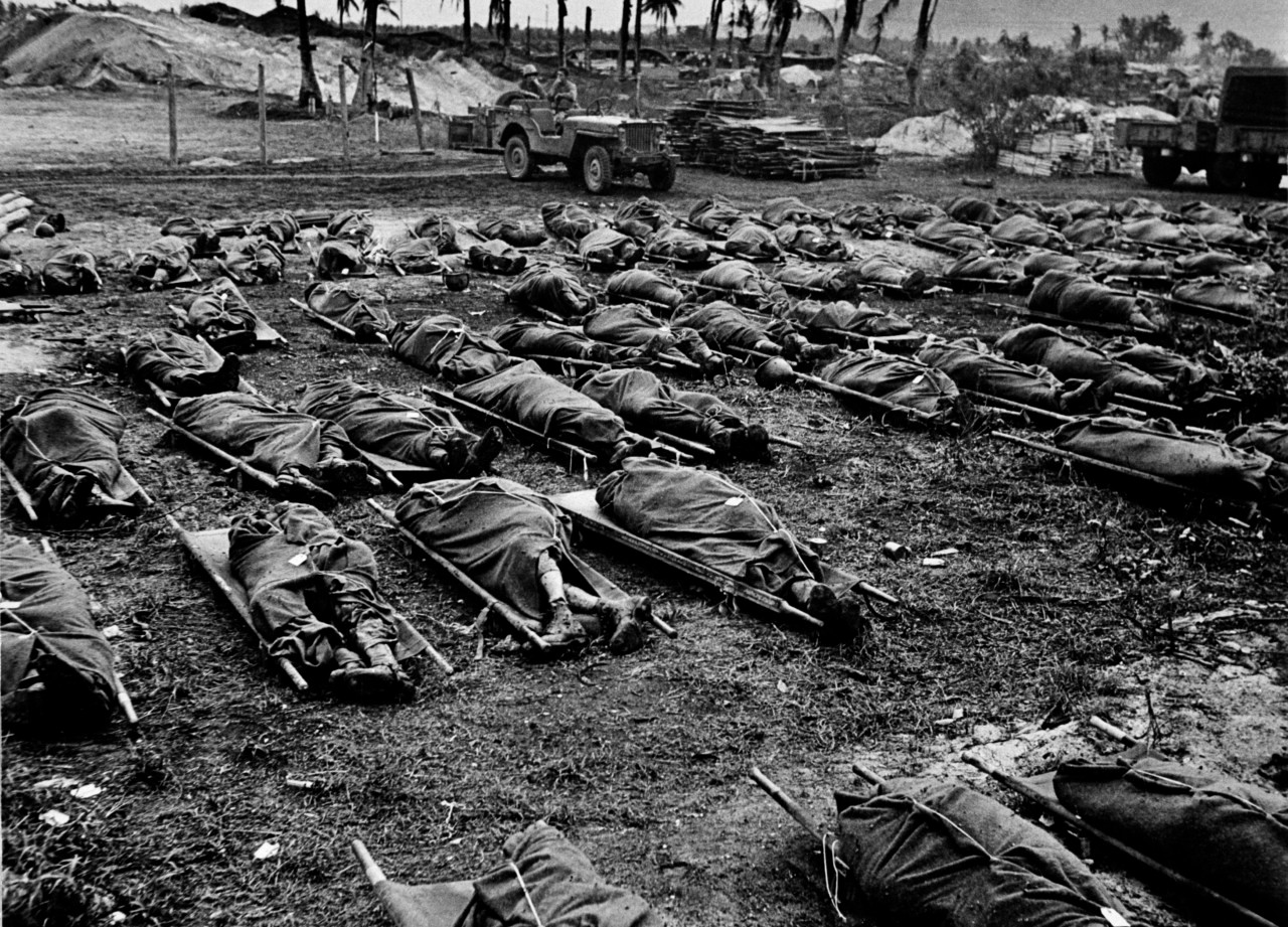 US soldiers killed during the Battle of Saipan