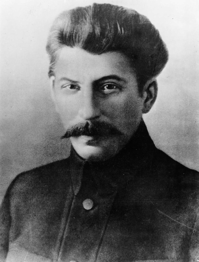 Young Stalin in 1918
