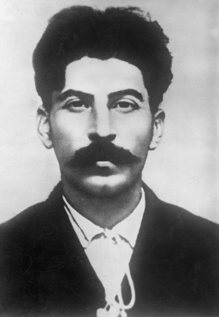 Police archive photos of Stalin