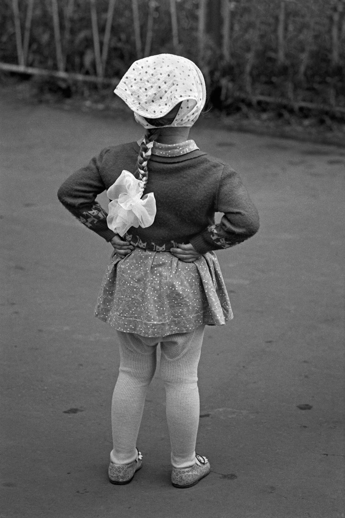 A little girl in USSR