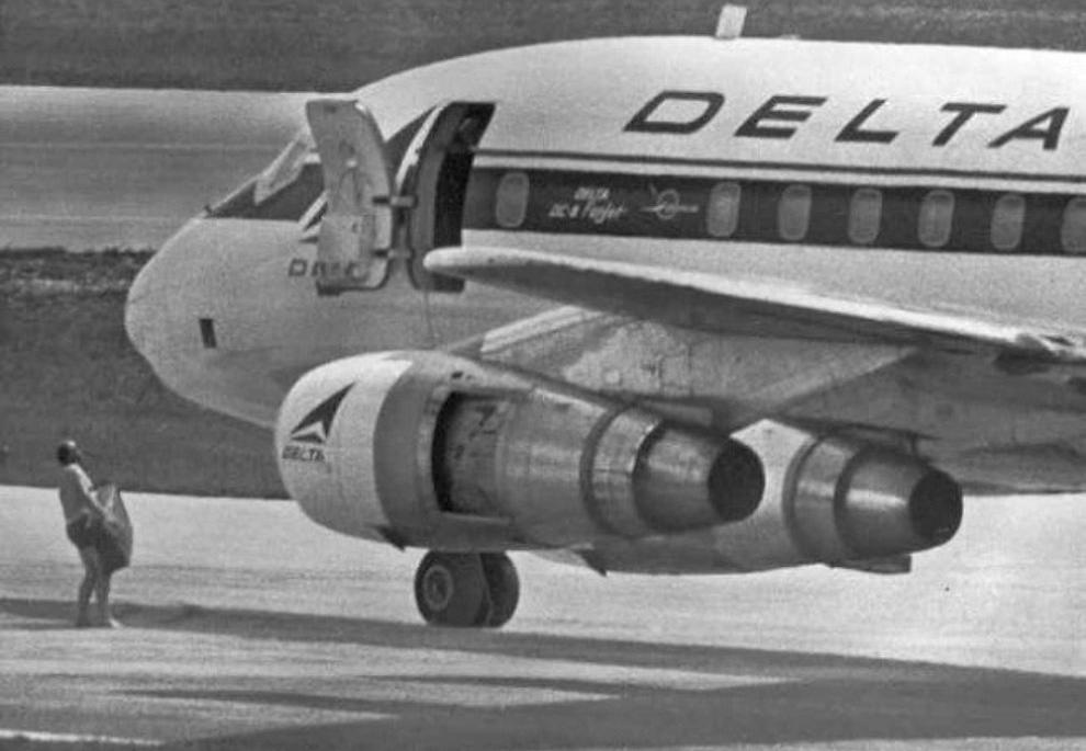 Delta airplane highjacking, 1972