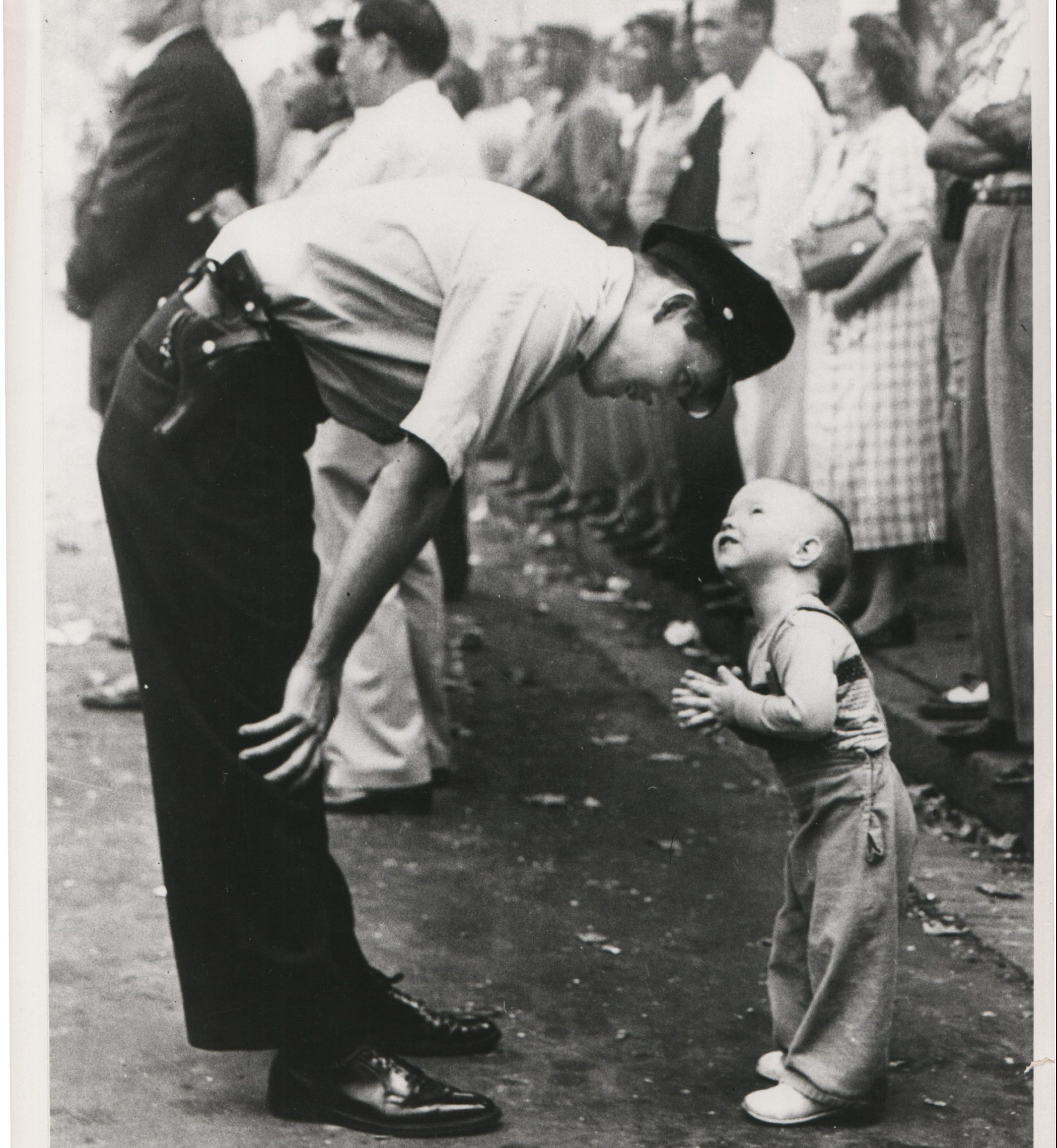 Faith and confidence, Pulitzer photography, 1958